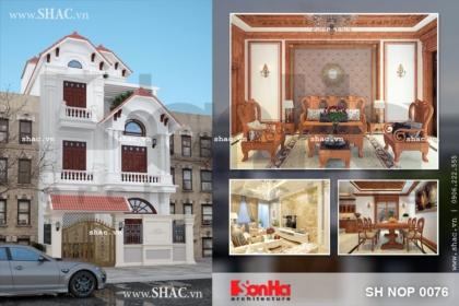 Nhà phố 4 tầng mặt tiền rộng sh nop 0076