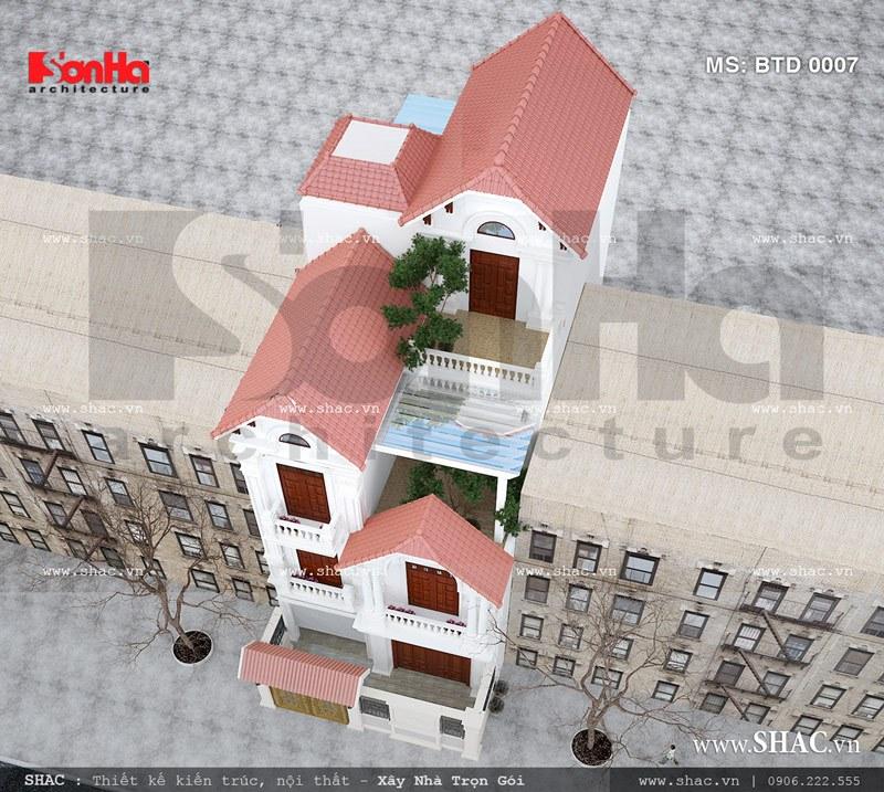 Ngôi nhà phố khi nhìn từ trên cao sh nop 0076