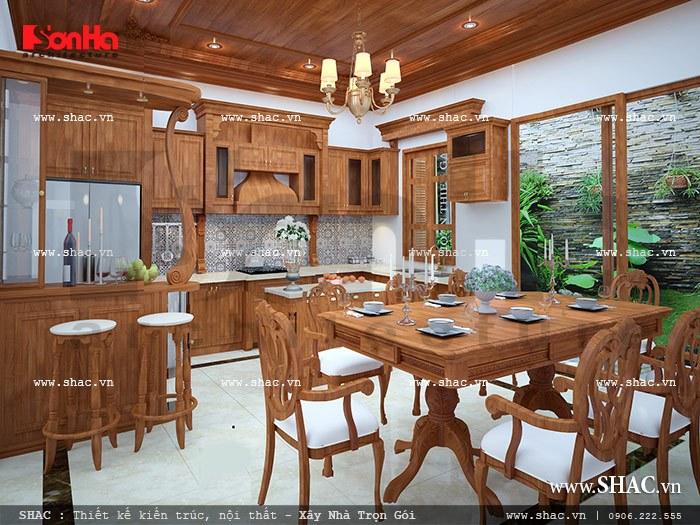Nội thất gỗ phòng ăn đẹp sh nop 0079