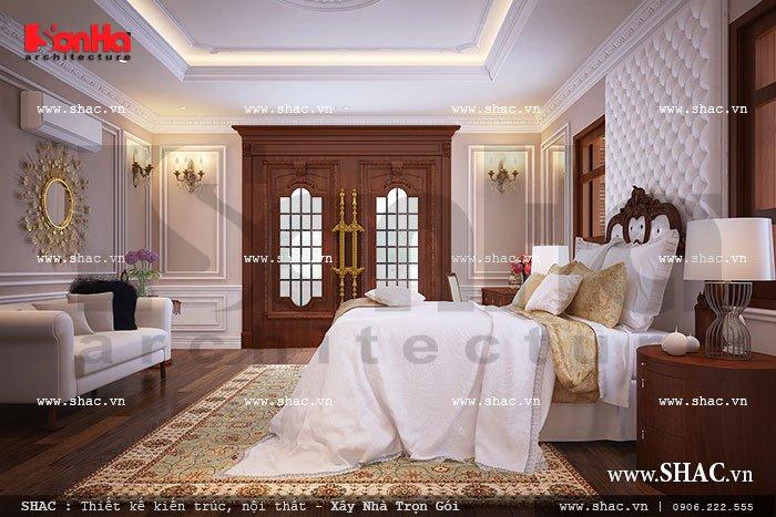 Nội thất phòng ngủ sang trọng sh btp 0062