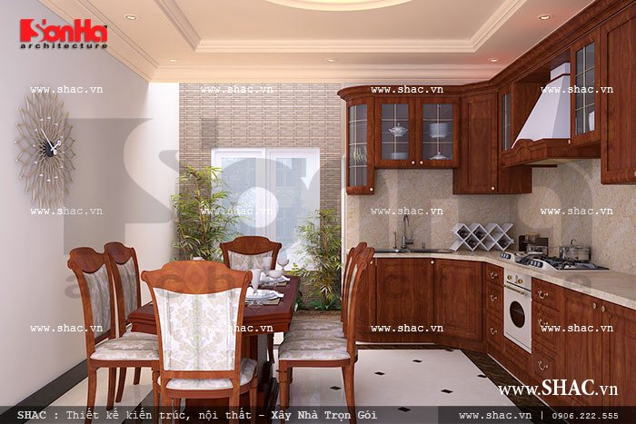 Phòng ăn ấm cúng sh nop 0077