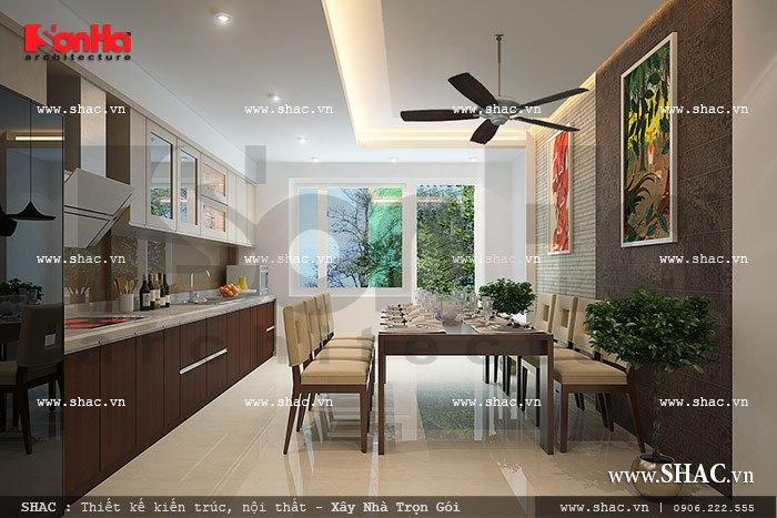 Phòng bếp ăn của gia đình sh nt 0021