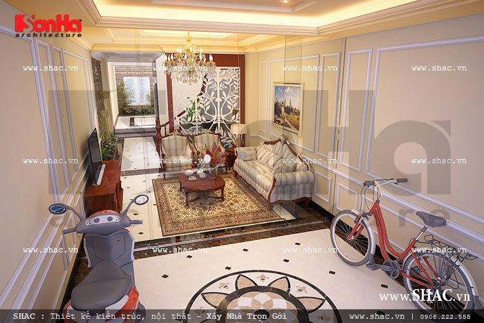 Phòng khách tầng 1 sh nop 0077