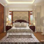 Phòng ngủ ấm cúng của gia chủ sh btp 0061
