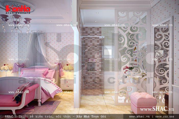 Phòng ngủ con gái lớn sh btld 0018