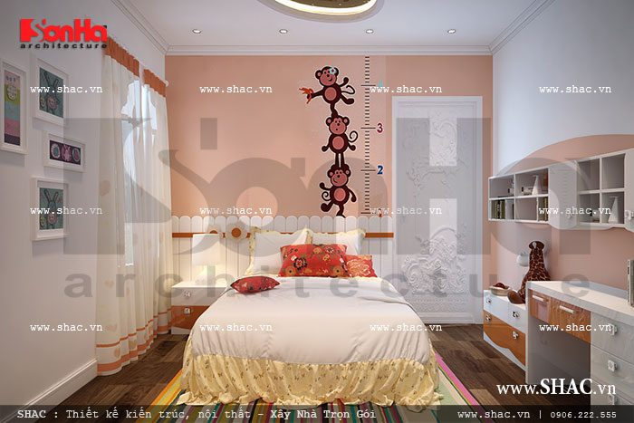 Cách thiết kế nội thất phòng ngủ đa sắc màu, cùng lối bày trí tinh tế mang đến không gian sinh hoạt cá nhân ấn tượng