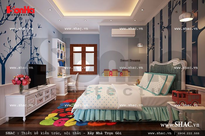 Phòng ngủ con trai sh nop 0077