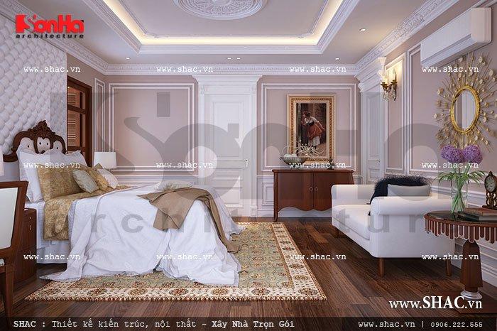 Phòng ngủ phong cách pháp sh btp 0062