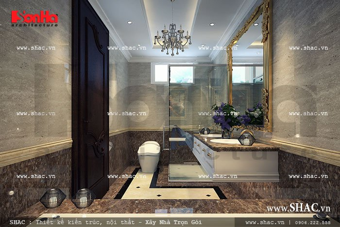 Phòng tắm sang trọng sh btp 0062