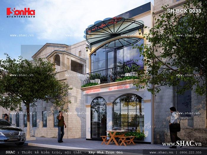 Quán cafe 2 tầng diện tích chỉ 36m2 sh bck 0033