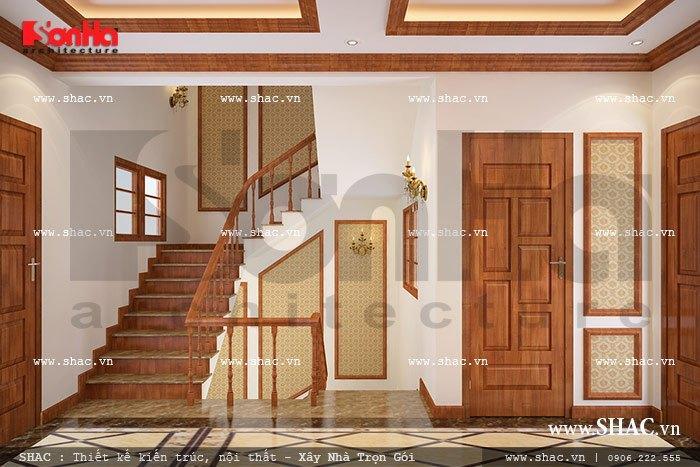 Sảnh cầu thang được thiết kế đẹp sh nop 0076