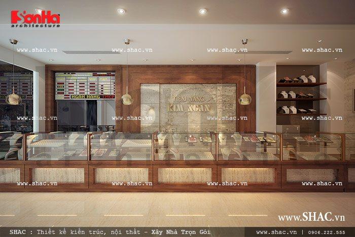 Tầng 1 được thiết kế để kinh doanh vàng sh nt 0021