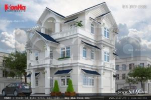 Biệt thự phong cách châu Âu sh btp 0063