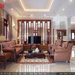 Thiết kế nội thất phòng khách đẹp sh btp 0061