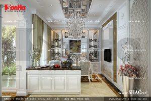 Thiết kế phòng bếp sang trọng sh btld 0018