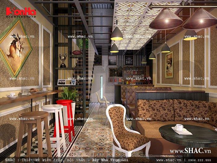 Không gian tầng 1 quán cafe sh bck 0033