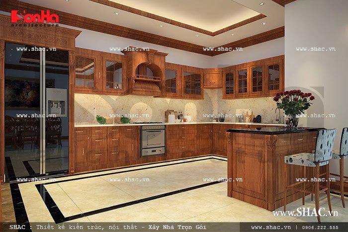Tủ bếp hình chữ u nop 0076