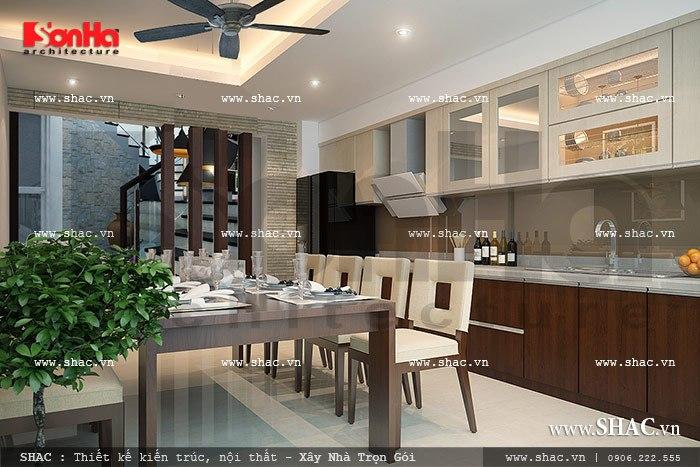 Tủ bếp và nội thất đơn giản sh nt 0021