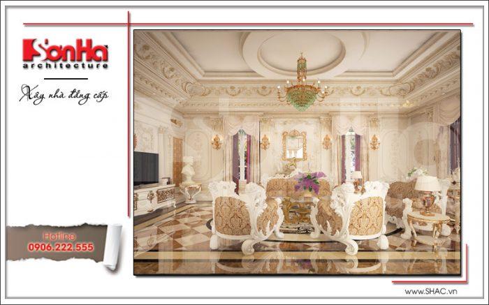 Thiết kế nội thất phòng khách sh btld 0020