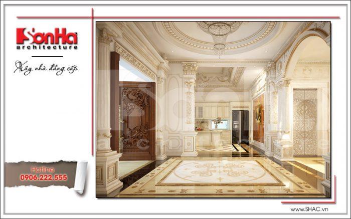 Thiết kế nội thất sảnh thang sh btld 0020
