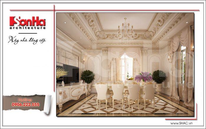 Thiết kế nội thất phòng ăn view 1 sh btld 0020