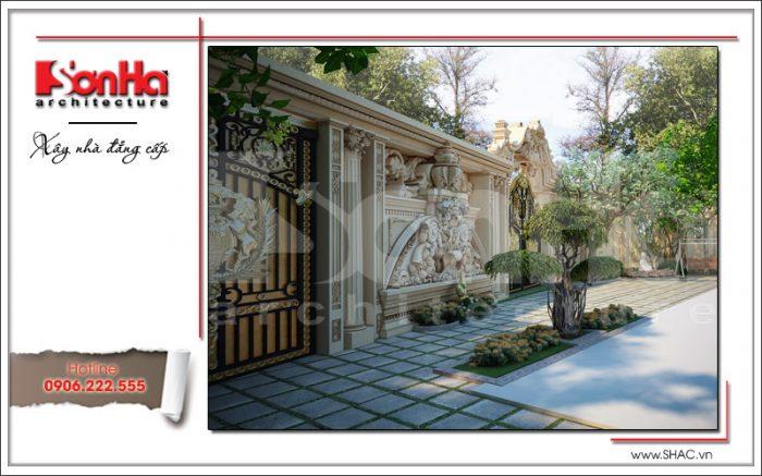 Thiết kế sân vườn đẹp sh btld 0020