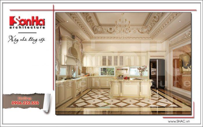 Mẫu thiết kế nội thất phòng bếp sh btld 0020
