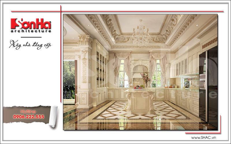 Thiết kế nội thất phòng bếp đẹp sh btld 0020