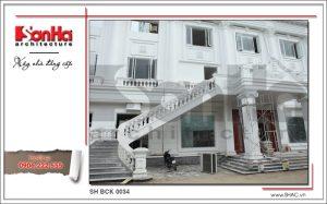 Một góc khác của công trình nhà hàng Hương Cảng tại Hải Phòng đang hoàn thiện sh bck 0034