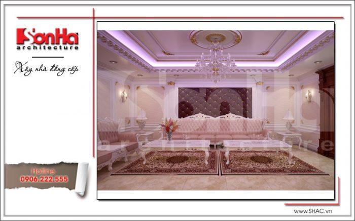 Thiết kế nội thất phòng hát sh btld 0020