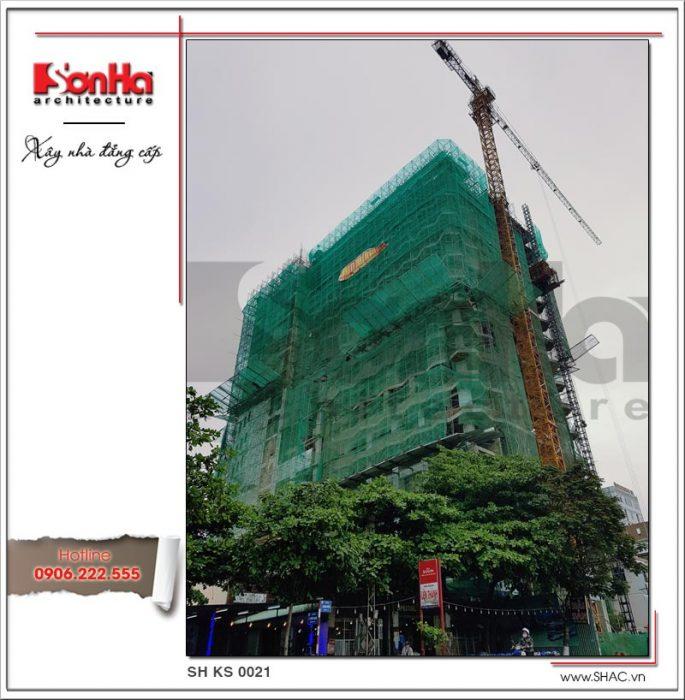 Ảnh thực tế công trình 2 khách sạn tiêu chuẩn 4 sao sh ks 0021