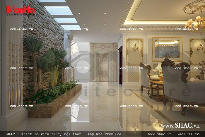 hành lang trong nhà