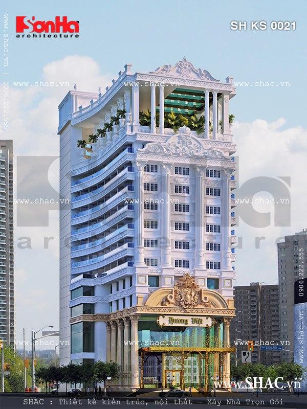 Mẫu thiết kế khách sạn đẳng cấp sh ks 0021