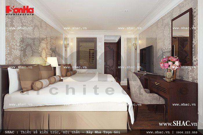 Thích thú ngắm nhìn mẫu phòng ngủ khách sạn có thiết kế nội thất đẹp với màu sắc cá tính
