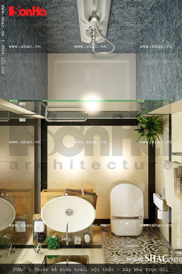 Phương án thiết kế phòng vệ sinh đẹp