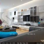 Thiết kế phòng sinh hoạt chung đẹp sh btd 0034