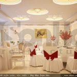 Phòng ăn của khách sạn sh ks 0022