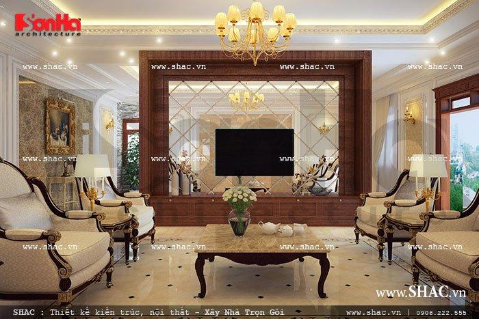Phòng khách gia đình