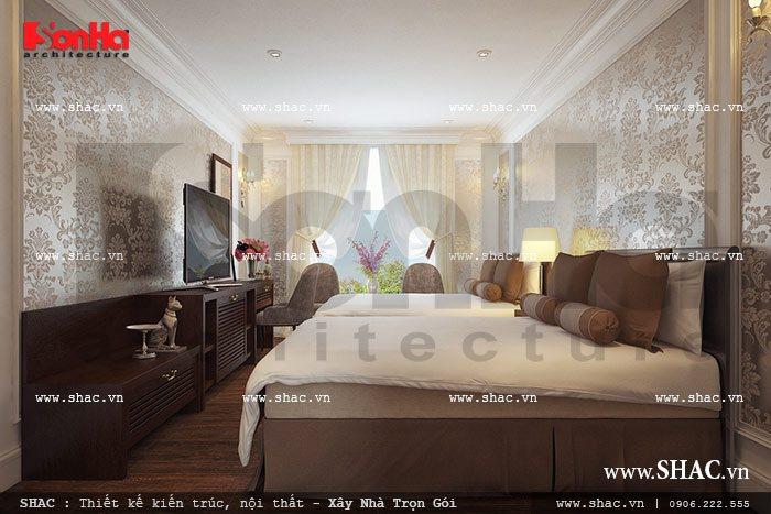Phòng ngủ khách sạn đẹp sh ks 0022