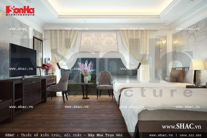 Phòng ngủ rộng