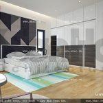 Phòng ngủ yên tĩnh và giản dị sh btd 0034