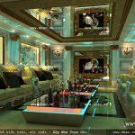 Phương án thiết kế phòng hát của khách sạn sh ks 0022