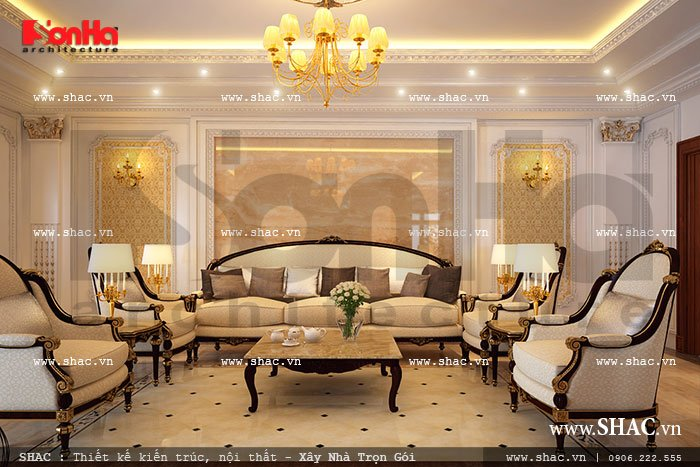 sofa phòng khách tầng 2 sh btp 0064