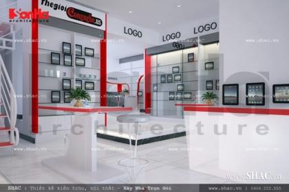 Thiết kế showroom điện thoại cao cấp sh sr 0013