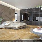 Thiết kế phòngngủ đẹp và thoáng đãng sh btd 0034