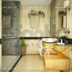 thiết kế phòng wc khách sạn đẹp sh ks 0022
