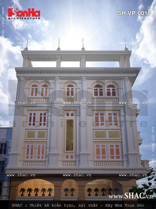 Tòa nhà kinh doanh văn phòng sh vp 0018