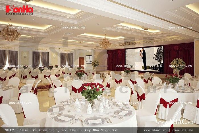 Trung tâm tổ chức tiệc cưới