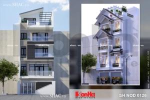 Nhà phố nhiều phương án trên cùng khu đất sh nod 0126