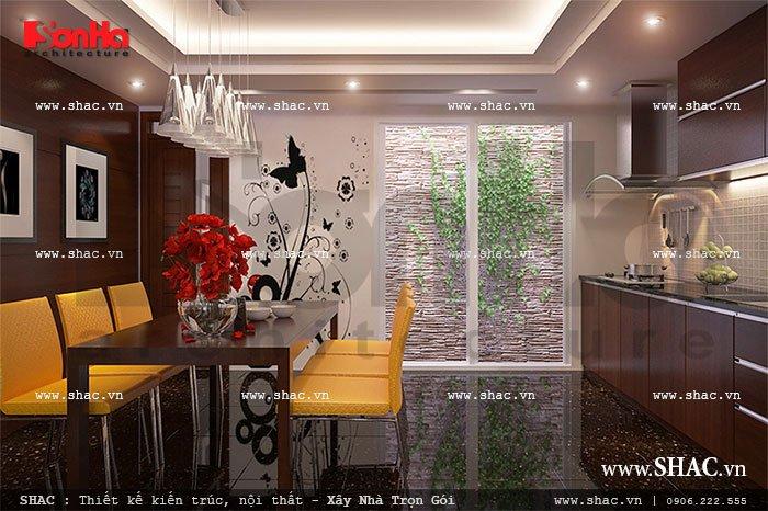 Phòng ăn đơn giản